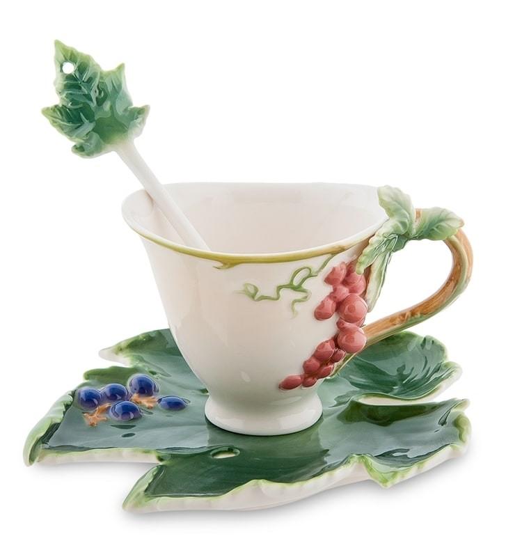 Чайная пара Pavone FM-01/28 Гроздь винограда