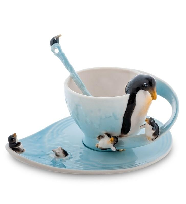Чайная пара Pavone FM-01/29 Пингвины