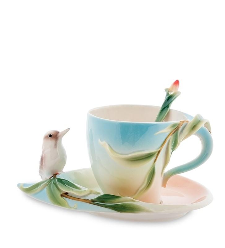 Чайная пара Pavone FM-77/ 2 Зимородок Кукабара