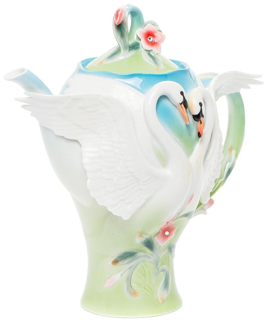 Заварочный чайник Pavone FM-76/ 1 Лебеди