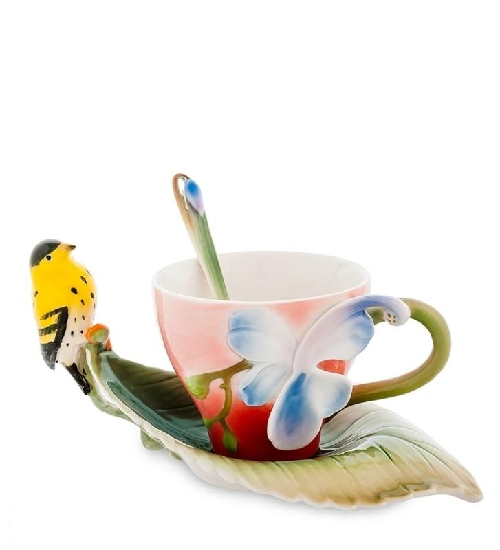 Чайная пара Pavone FM-81/ 2 Иволга и Орхидея