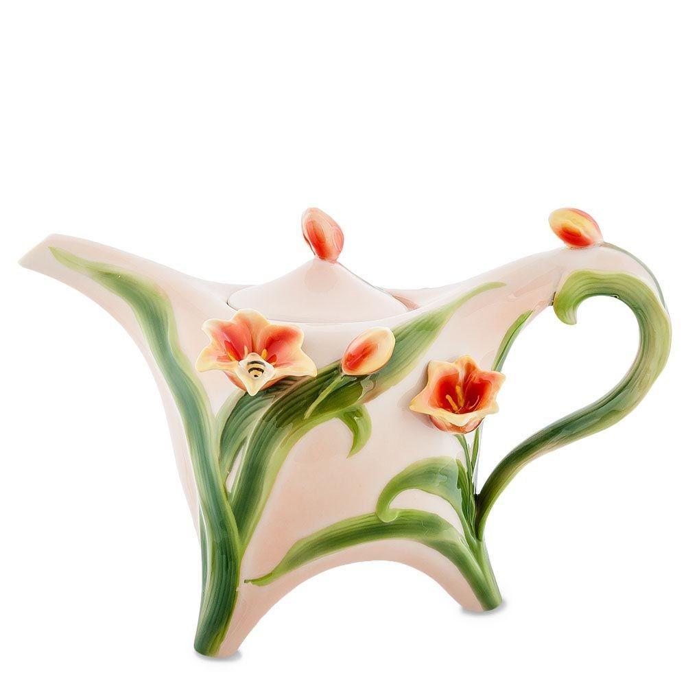 Заварочный чайник Pavone FM-83/ 1 Тюльпаны