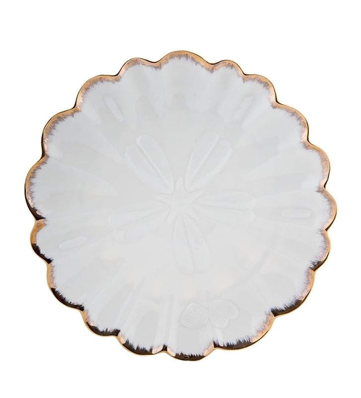 Десертная тарелка Pavone FM-34/ 7 Морская ракушка