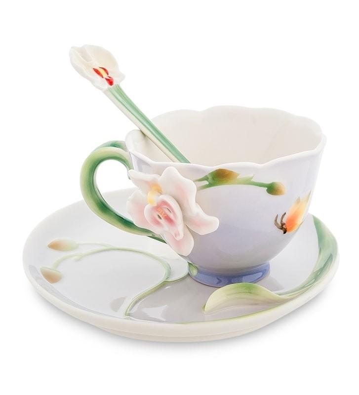Чайная пара Pavone FM-37/ 3 Орхидея