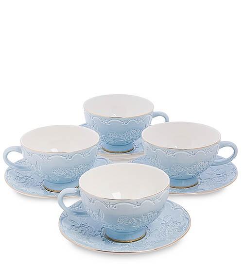 Чайный набор Pavone AS-05 на 4 персоны Лаце Росса