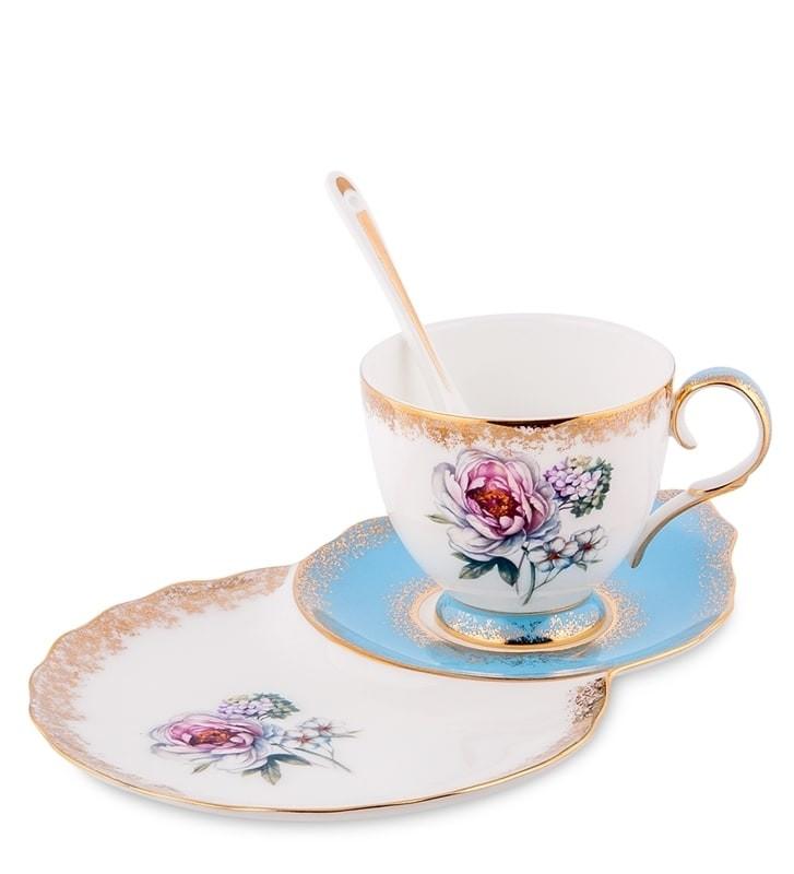 Чайная пара Pavone JK-133 Цветок Неаполя