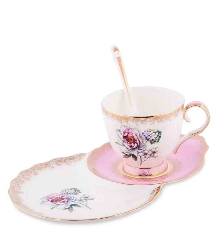 Чайная пара Pavone JK-126 Цветок Неаполя
