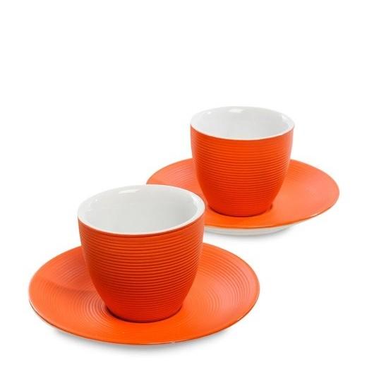 Кофейный набор FD-18 на 4 персоны Колумбия оранж