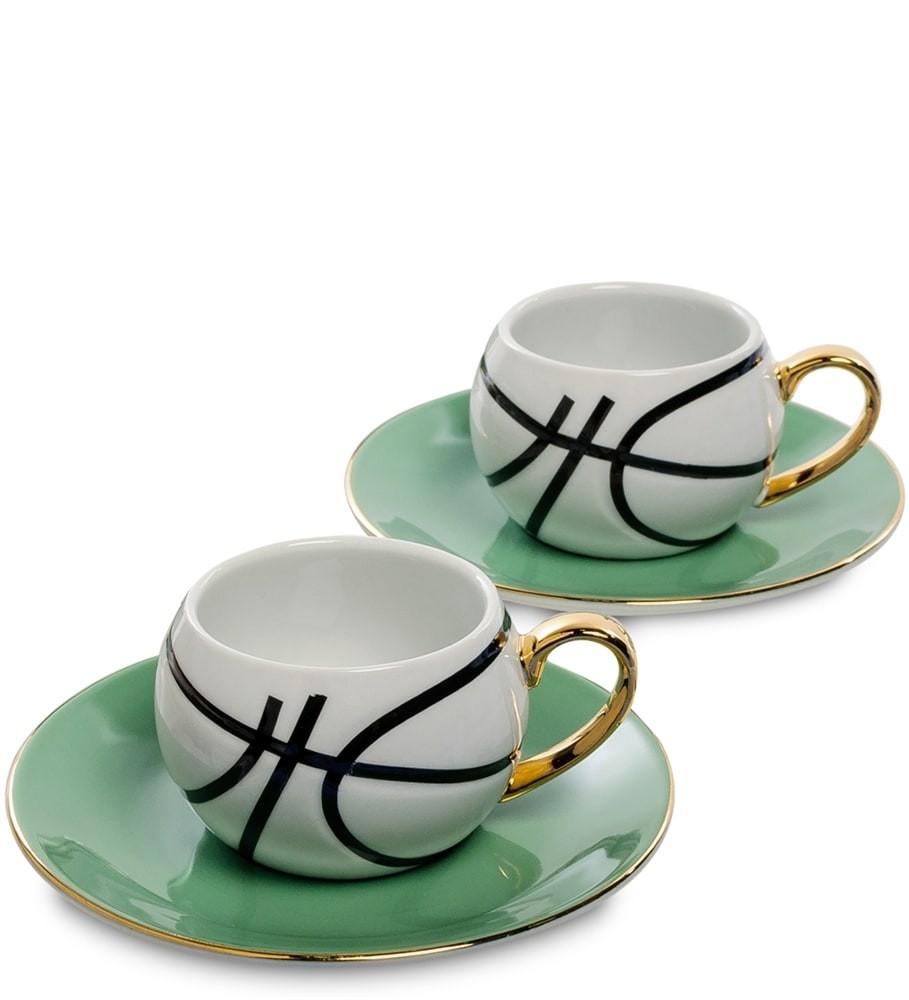 Кофейный набор FD-13 на 2 персоны Мини Баскетбол