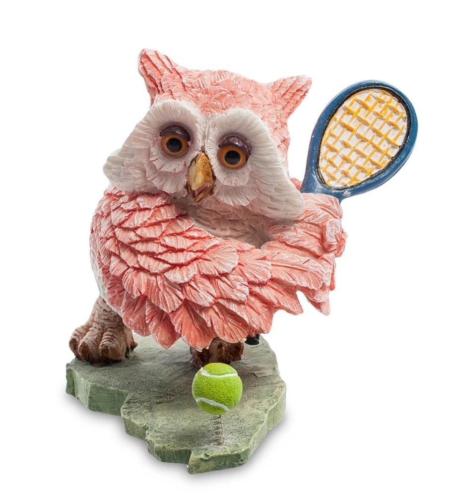 Фигурка Sealmark OL-6379-XA Сова Теннисист