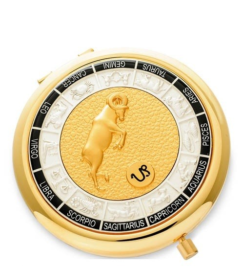 Зеркало золотое WIN- 01-10 Знак Зодиака - Козерог