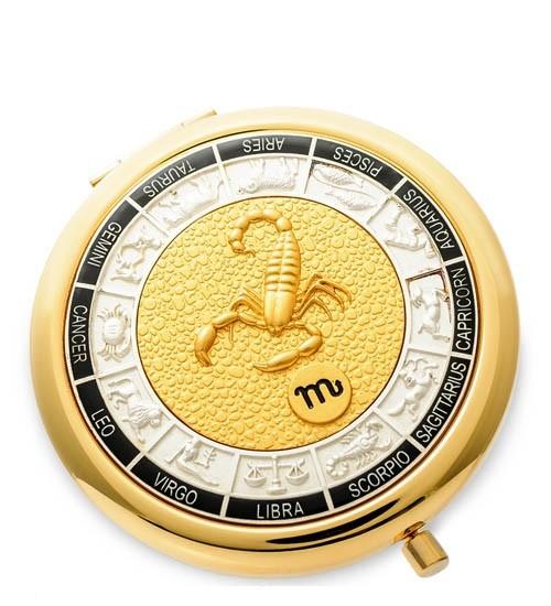 Зеркало золотое WIN- 01- 5 Знак Зодиака - Скорпион