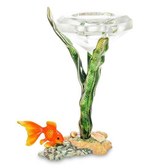 Подсвечник WIN-159 Золотая рыбка