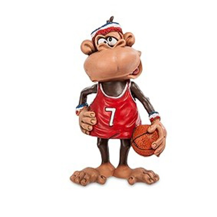 Фигурка W.Stratford RV-467 Обезьяна Баскетболист