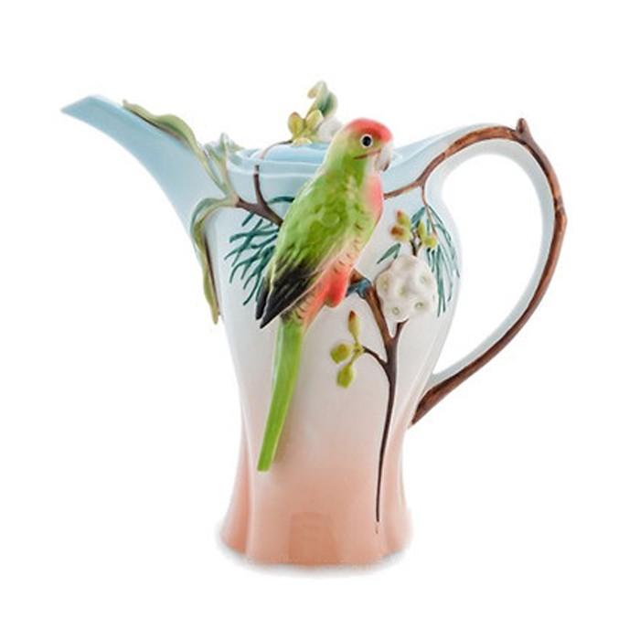 Заварочный чайник Pavone FM-79/ 1 Попугай Розелла