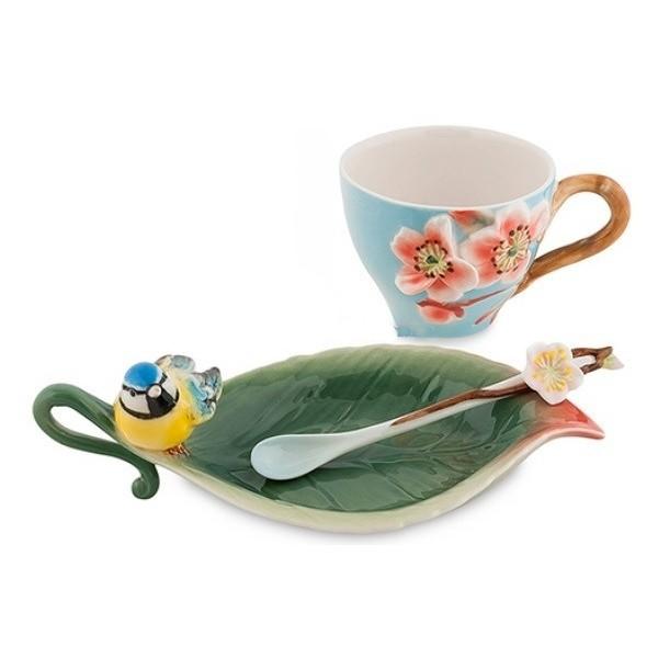 Чайная пара Pavone FM-01/ 8 Сливовый цветок