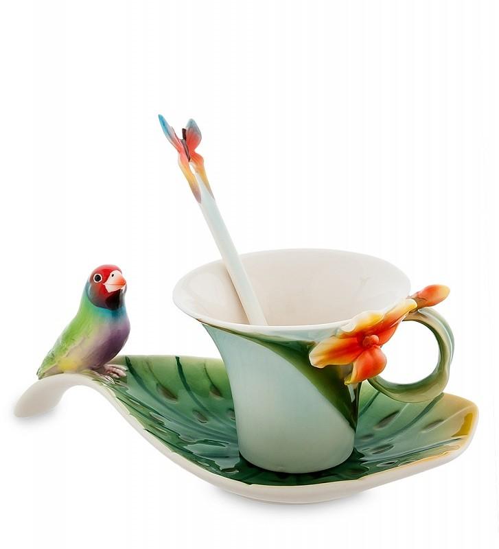 Чайная пара Pavone FM-33/ 2 Попугай