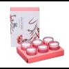Набор из 6 свечей ароматизированных WD-03/ 2 Цветущая вишня в подарочной коробке