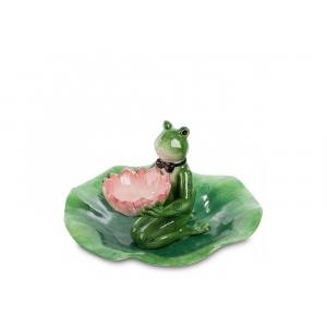 Набор тарелка и соусник Pavone CMS-02/ 5 Лягушка