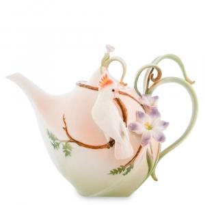 Заварочный чайник Pavone FM-79/ 3 Попугай Какаду