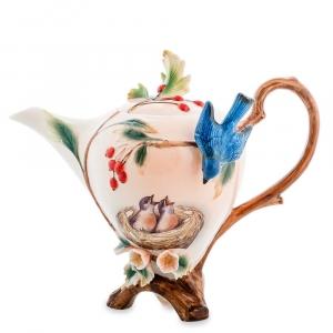 Заварочный чайник Pavone FM-80/ 1 Голубые птицы