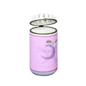 Свеча ароматизированная WD-11/ 4 Бархатная роза в керамическом сосуде