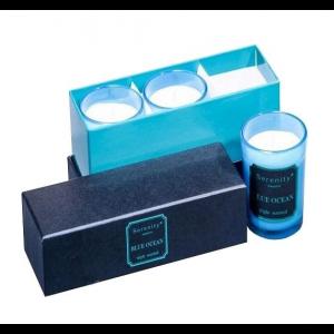 Набор из 3 свечей ароматизированных WD-15/ 1 Океан в подарочной коробке
