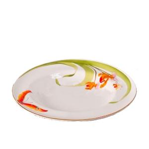 Тарелка глубокая для спагетти ALF 55-099 Орхидеи 24,1 см