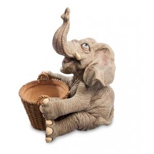 Статуэтка-кашпо GG-5331-LE Слон добряк