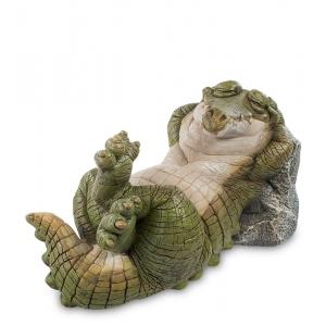 Статуэтка большая Sealmark CD-7111-LC Крокодил Релакс