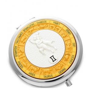 Зеркало серебрянное WIN- 02- 9 Знак Зодиака - Близнецы
