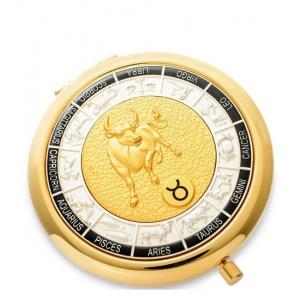 Зеркало золотое WIN- 01- 7 Знак Зодиака - Телец