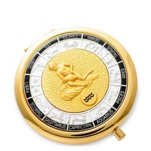Зеркало золотое WIN- 01- 1 Знак Зодиака - Водолей