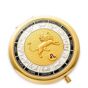 Зеркало золотое WIN- 01-12 Знак Зодиака - Лев