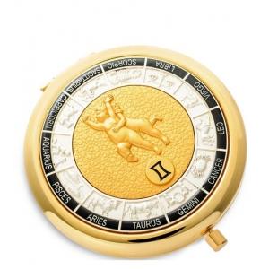 Зеркало золотое WIN- 01- 9 Знак Зодиака - Близнецы