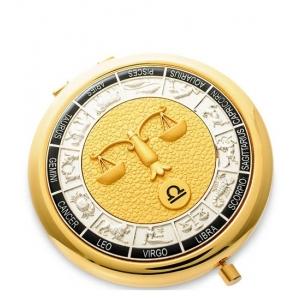 Зеркало золотое WIN- 01- 4 Знак Зодиака - Весы