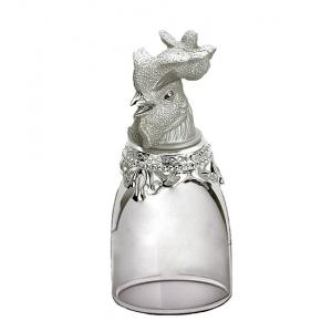 Хот-шот WIN-210 маленький серебристый Символ Года - Петух