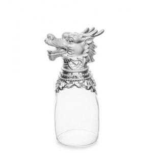Хот-шот WIN-205 маленький серебристый Символ Года - Дракон