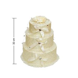 Коробка WB-44 Праздничный торт 3-ярусная