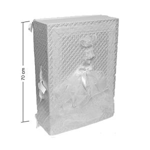 Коробка WB-53 прямоугольная Свадебная