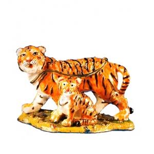 Шкатулка JB- 83 Семейка тигров