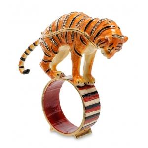 Шкатулка JB- 84 Тигр на кольце